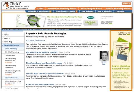 Profil alapján targetált bannerek külső oldalon