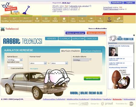 Telekocsi app